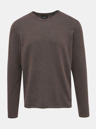 Hnedý basic sveter ONLY & SONS Garson