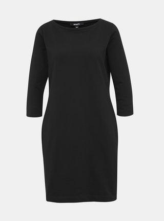 Čierne mikinové basic šaty ZOOT LOLA