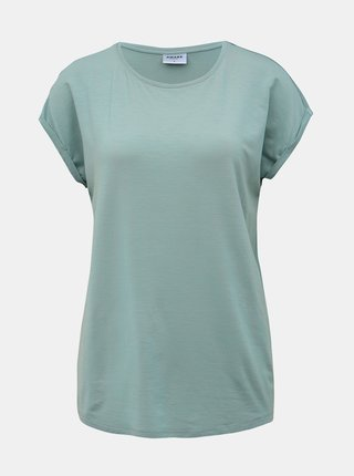 Tricouri basic pentru femei AWARE by VERO MODA - mentol
