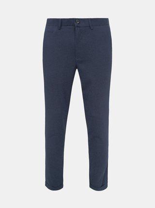 Pantaloni formali pentru barbati Lindbergh - albastru inchis