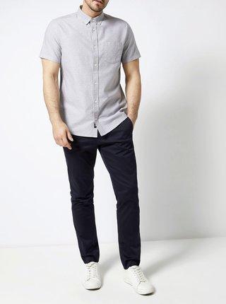 Šedá vzorovaná košeľa Burton Menswear London