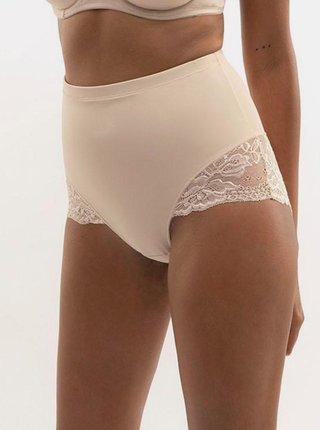 Tělové stahovací kalhotky s krajkou Dorina Brigitte