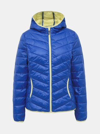 Modrá dámská prošívaná bunda Tom Tailor Denim