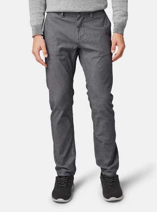 Šedé pánské chino kalhoty Tom Tailor
