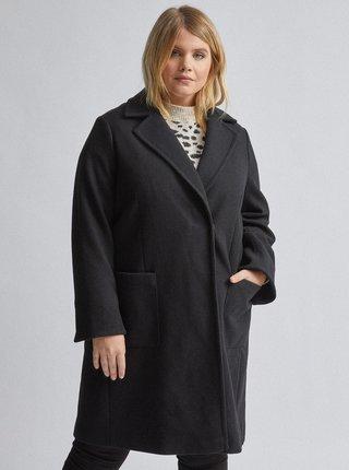 Čierny kabát Dorothy Perkins Curve