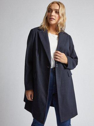 Tmavě modrý kabát Dorothy Perkins Curve