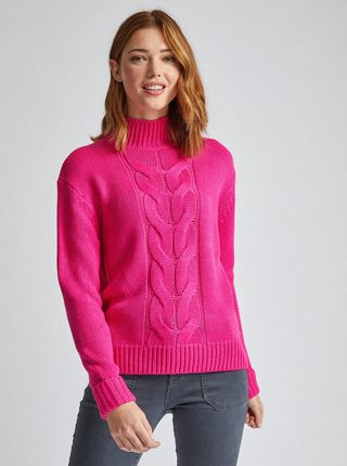 Rúžový sveter Dorothy Perkins Tall