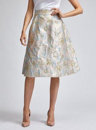 Světle růžová květovaná sukně Dorothy Perkins