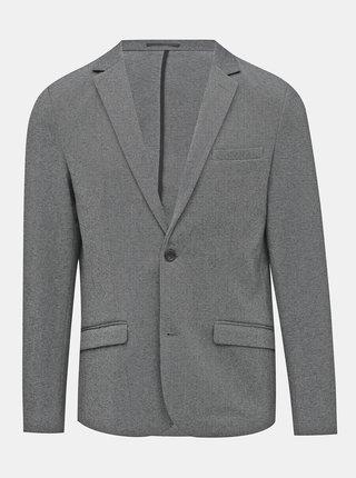 Šedé oblekové sako Lindbergh