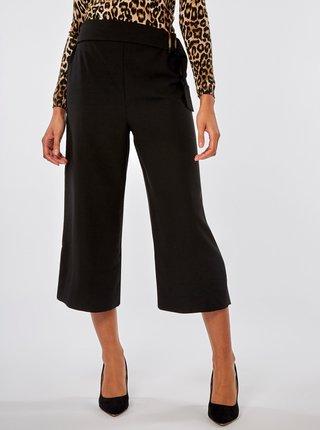 Černé culottes s vysokým pasem Dorothy Perkins
