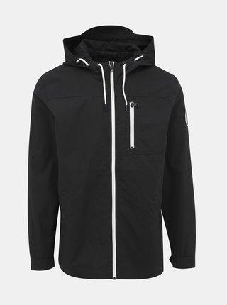 Čierna bunda ONLY & SONS Asbjorn