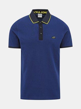 Tmavě modré polo tričko Jack & Jones Charming