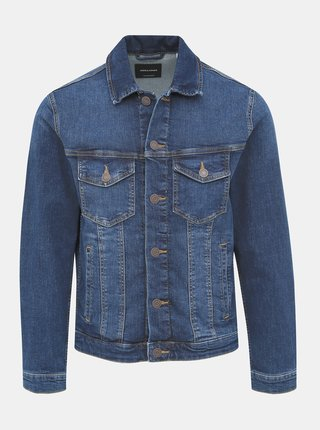 Tmavě modrá džínová bunda Jack & Jones Alvin