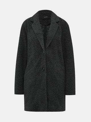 Tmavě šedý lehký kabát VERO MODA Arblebella