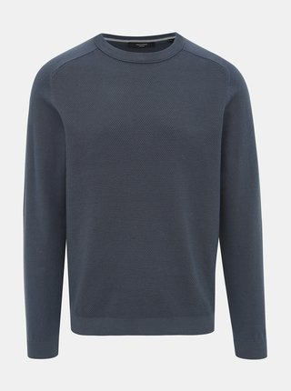 Modrý sveter Jack & Jones Blasheran