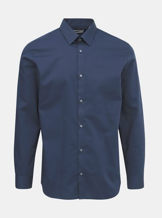Tmavě modrá slim fit košile Jack & Jones Non Iron