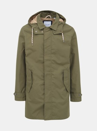 Zelená parka Jack & Jones Fairly