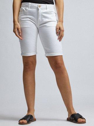 Pantaloni scurti albi din denim Dorothy Perkins Petite