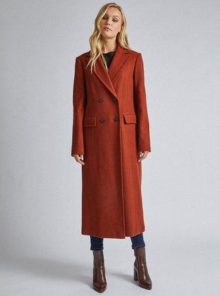 Hnědý kabát Dorothy Perkins Tall