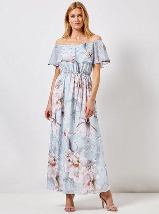 Rochie maxi albastru deschis florala Dorothy Perkins
