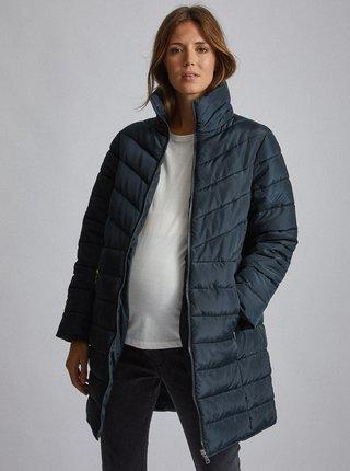 Tmavě modrý těhotenský kabát Dorothy Perkins Maternity