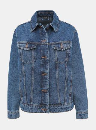 Tmavě modrá džínová bunda VERO MODA Katrina