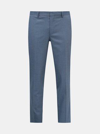 Světle modré oblekové kalhoty Selected Homme Logan