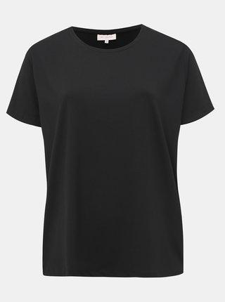 Černé basic tričko ONLY CARMAKOMA