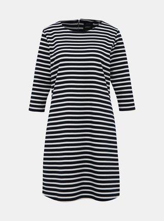 Bielo-modré pruhované šaty ONLY Brilliant