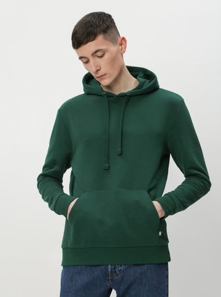 Tmavě zelená pánská basic mikina ZOOT Scott