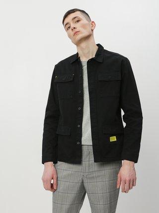 Černá lehká bunda Jack & Jones Hoggle