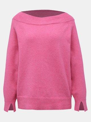 Ružový sveter Noisy May Bert