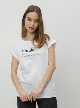 Bílé dámské tričko ZOOT Original Single