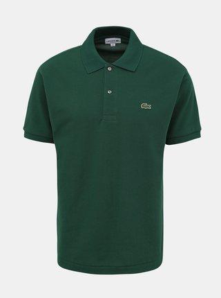 Zelená pánska basic polokošeľa Lacoste