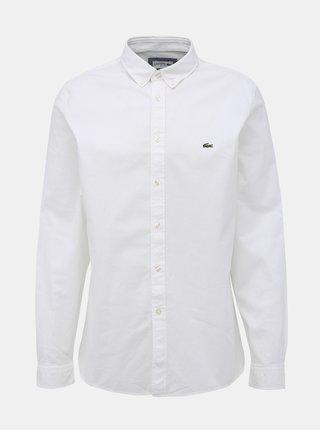 Biela pánska slim fit košeľa Lacoste