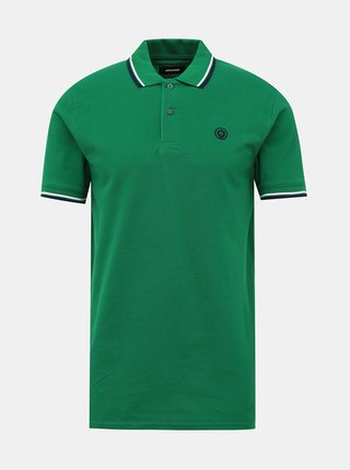 Zelené polo tričko Jack & Jones Noah