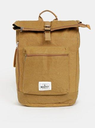 Hnědý batoh Meatfly Ramkin Paper Bag 25 l