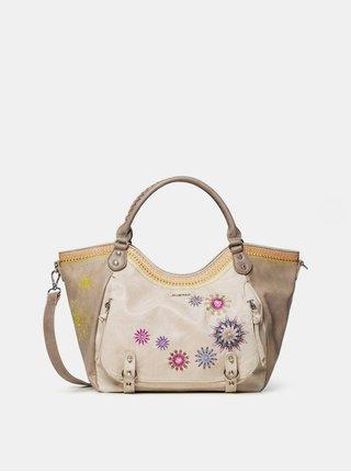 Béžová kabelka Desigual