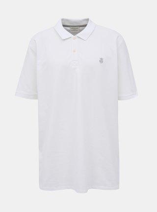 Tricouri basic pentru barbati Selected Homme - alb