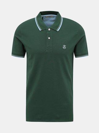 Tmavě zelené polo tričko Selected Homme New Season