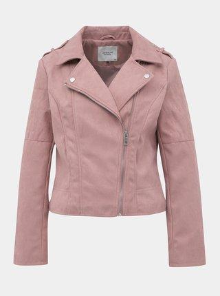 Jachete din piele naturala si sintetica pentru femei Jacqueline de Yong - roz