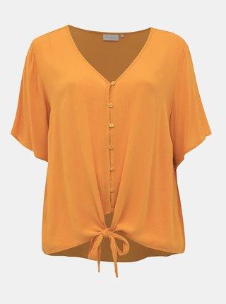 Oranžová halenka ONLY CARMAKOMA Savannah