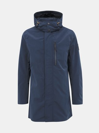 Tmavomodrá pánska vodeodpudivá  bunda Tom Tailor