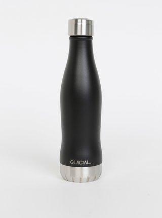 Čierna fľaša GLACIAL Matte 400 ml