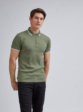 Zelené polo tričko Burton Menswear London