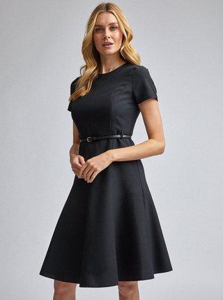 Čierne šaty Dorothy Perkins Fit & Flare