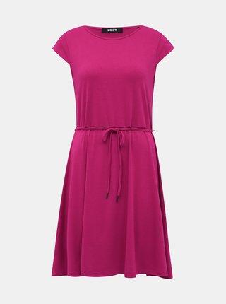 Tmavě růžové basic šaty ZOOT Buffy