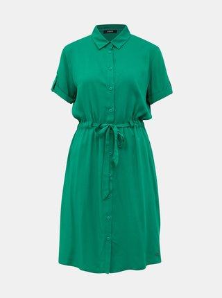Zelené košilové šaty ZOOT Nere