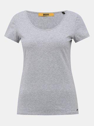 Šedé dámské basic tričko ZOOT Baseline Nora
