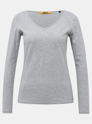 Svetlošedé dámske basic tričko ZOOT Baseline Tamara